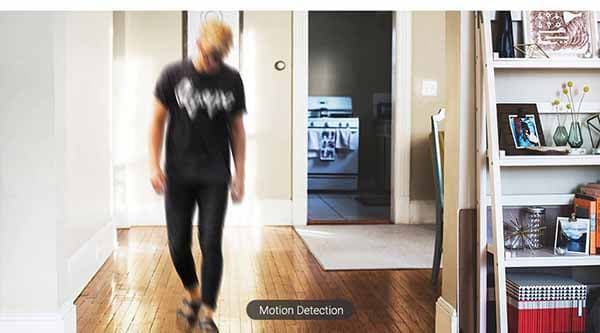 กล้องวงจรปิด Motion Detect